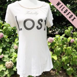 WILDFOX - Totally Lost Tee